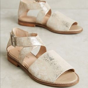 Kelsi Dagger aged metallic Sandal